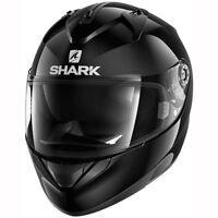 Motorcycle Shark Ridill Helmet Blank BLK - Black