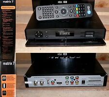 Truview Matrix 7 HD TV Digital SAT Satelliten Receiver PVR Ready USB HDMI Black