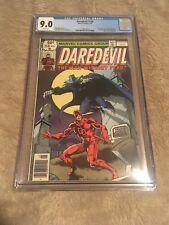 Daredevil # 158 CGC 9.0 White (Marvel, 1979) 1st Frank Miller Deathstalker