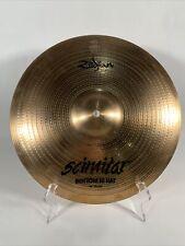 "Zildjian Scimitar 14"" 36cm hi hats top & bottom USA"