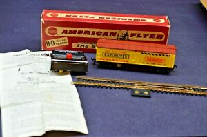 Gilbert American Flyer H-O Mine Carrier Exploding Train Car w/Box & Manual 33806