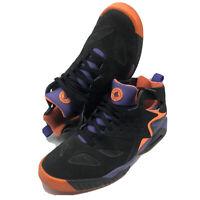 Nike Air Tech Challenge Huarache Black Orange Purple 630957-002 Men's size 11.5
