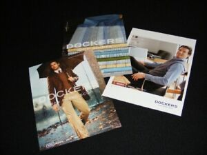 DOCKERS magazine clippings print ads for Menswear