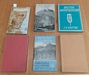 6 Vintage Books on Mountaineering/ Rock Climbing in Britain, JEB Wright, Snowdon