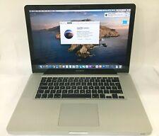 """Apple MacBook Pro 15"""" A1286 (2012) Core i7 2.3 Ghz 8 GB Ram 256 GB SSD Warranty"""