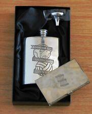 Birmingham City pewter hipflask & business card holder (.in presentation box)