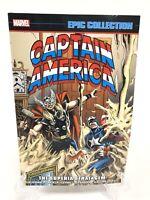 Captain America Epic Collection Superia Stratagem #387-397 Marvel Comics New TPB