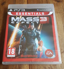 MASS EFFECT 3 Essentials Jeu Sur Sony PS3 Playstation 3 Neuf Sous Blister VF
