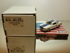 HECO MODELES FORD MUSTANG 350 GT SHELBY COBRA - WHITE 1:43 - MINT IN BOX