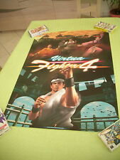>> VIRTUA FIGHTER IV 4 SEGA ARCADE B1 SIZE OFFICIAL POSTER! <<