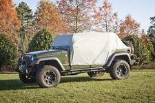 Rugged Ridge Jeep Wrangler JK 2007-2017 4-Door Cab Cover Weather Lite 13318.10