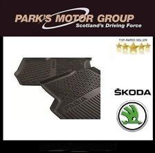 Genuine New Skoda Fabia 2015 > Rear Rubber Mats 6V0061551
