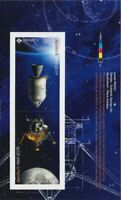 bq. APOLLO 11 = 50th = Booklet page of 2 Tête-Bêch stamps Canada 2019 MNH VF