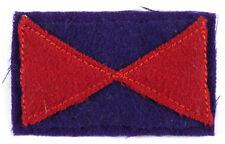 WW1 Original Colour Patch - Australian Field Artillery - Signal Sub-sections