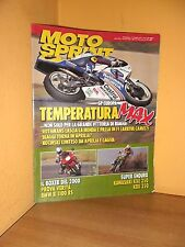 MotoSprint - n° 27 - 7/13 Luglio 1993 - BMW R 1100 RS/Kawasaki KXE 250 - Rivista
