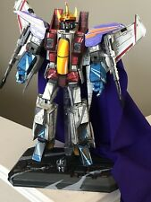 Custom Transformers Starscream Cell Shaded With Coronation Set