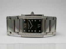 PATEK PHILIPPE 4910/10A-001 BLACK DIAL 10 DIAMOND MARKERS QUARTZ WOMEN'S WATCH