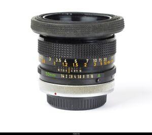 Lens Canon FD 1.4/50mm S.S.C  ex