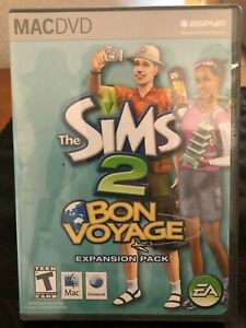 The Sims 2 Bon Voyage - For Mac - Expansion Pack, New Sealed