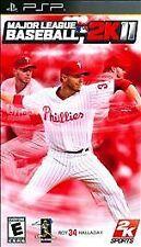 Major League Baseball MLB 2K11 Sony PSP 2011 BRAND NEW & FACTORY SEALED HALLADAY