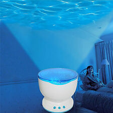 Calming Autism Sensory Toys LED Light Projector Blue Lamp Relax Sky Star
