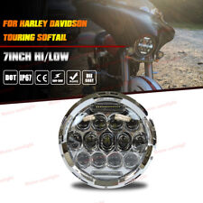 """7"""" LED Projector Daymaker Headlight For Harley Street Glide/Road King/Softail"""