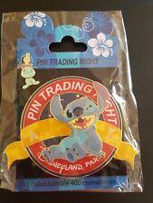 Jumbo Pin Trading Night Disney Pin LE400 Stitch Pin Disneyland Paris BN & Sealed