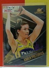2019 Suncorp Super Netball - Karla Pretorius Sunshine Coast Base Trading Card 71