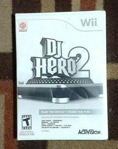 DJ Hero 1 & 2 (Nintendo Wii, 2010) Brand New Games Only