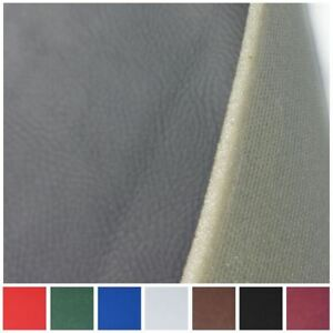 3mm SCRIM FOAM BACKED TEXTURED FAUX LEATHER HEADLINING CAR BOAT MATERIAL
