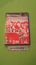 DISNEY SING IT HIGH SCHOOL MUSICAL 3 LYCEE / PS2 PLAYSTATION 2 SONY PAL COMPLET