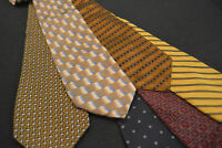 Lot of 6 Tom James Neckties - incredibly cheap price! Grab it! D3