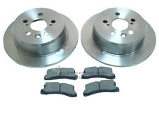 REAR 2 BRAKE DISCS AND MINTEX PADS SET NEW FOR TOYOTA CELICA 1.8 ST 2.0 GT 95-99