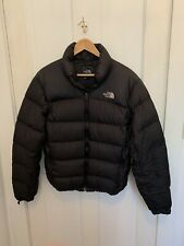 Mens Small Black Down Puffer Winter Jacket Coat North face Northface 700