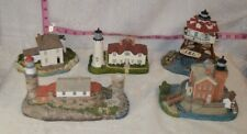 Five Lady Lightkeepers Series Habour Lights Figurines