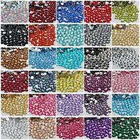 1000Pcs Quality Resin Flat Back Rhinestones Diamante Gems For Nail Art Crafts