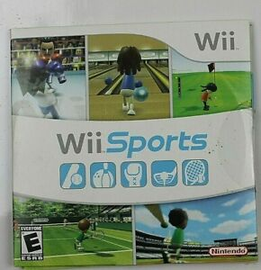 Wii Sports by Nintendo.  2006.  Used but in good shape and all original.