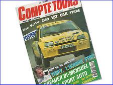 Magazine Compte Tours Numéro 63 - Mai 1995