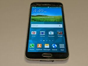 Samsung Galaxy S5 SM-G900A AT&T 16GB Black Android Smartphone/Cell Phone