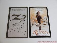 Mortal Instruments City of Bones World in Runes Rune Card Single Equilibrium NEW