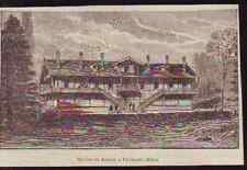 1895  --  PAVILLON PASTEUR A VILLENEUVE L ETANG  P202