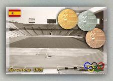 Barcelona 1992 Olympic Medals. Muntjuic Olympic Stadium.  Spain