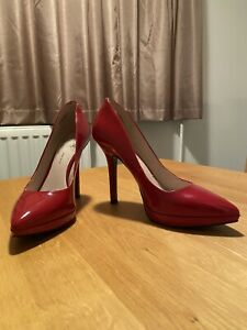 Nine West Red Patent Shoes