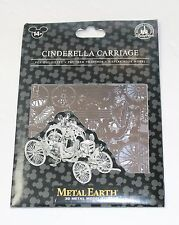 NEW Disney Parks Metal Earth 3D Model Kit Cinderella Carriage Coach
