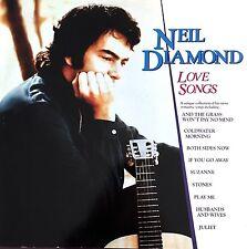 Neil Diamond LP Love Songs - Germany (EX/M)
