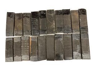 20 Paquet,Ebène Bois Couteau Échelles,Poignée Coutellerie 5-1/2 x 1-3/4 X X 1/2