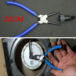 Metal Car Fuel Line Pipe Hose Connector Quick Release Removal Buckle Pliers Tool