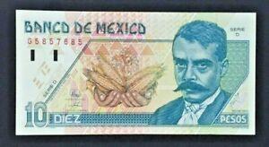 Mexico Banknote - 10 Pesos - 1994 - P 105 - UNC