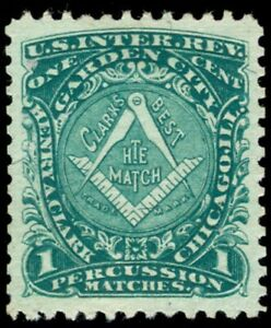 momen: US Stamps #RO61b Used Revenue PSE Graded XF-SUP 95