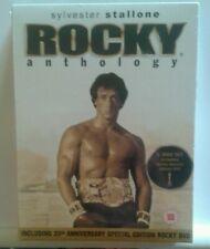 ROCKY ANTHOLOGY (5 DISC) DVD BOXSET